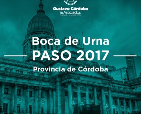 Boca de Urna Legislativas Córdoba Paso 2017